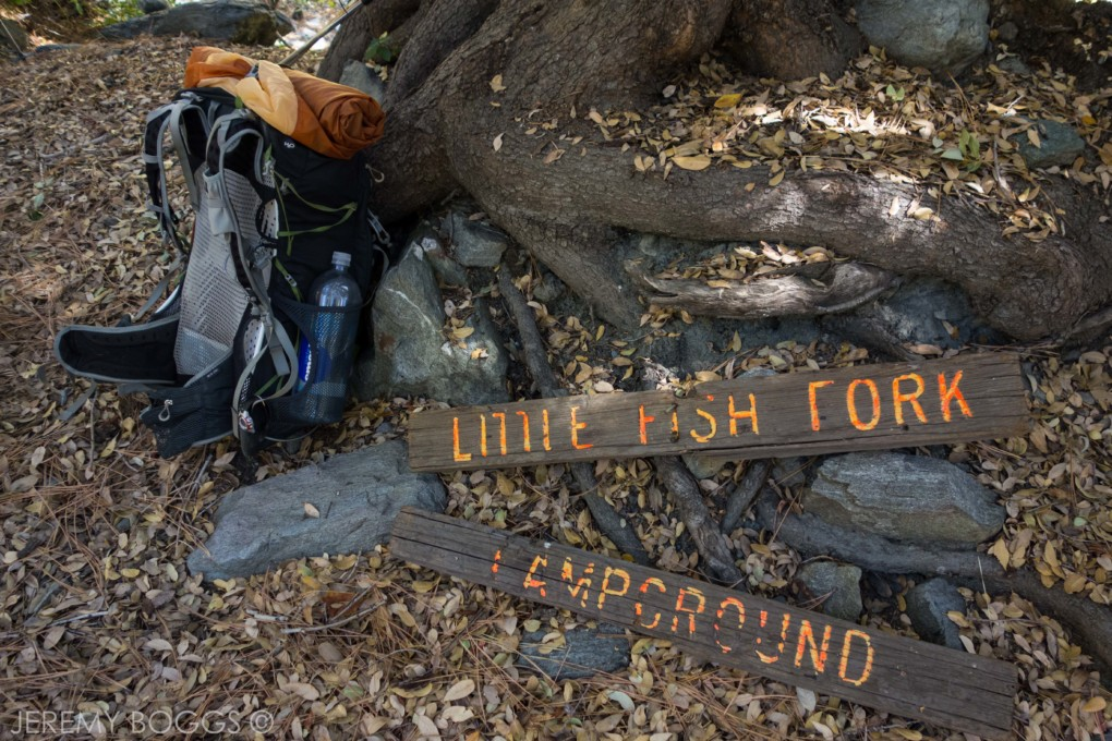 Fish Fork Trail, Pine Mountain Ridge, San Gabriels, Little Fish Fork, Upper Fish Fork