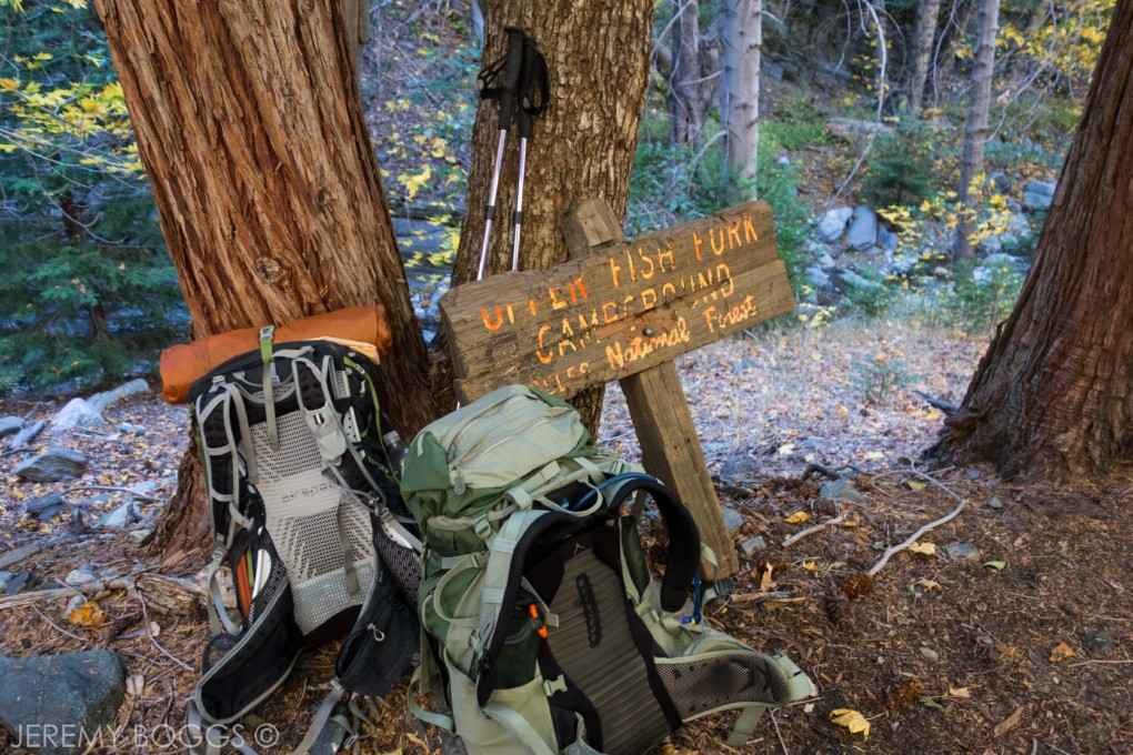 Fish Fork Trail, Upper Fish Fork, Little Fish Fork, San Gabriels, Angeles National Forest, Sheep Mountain Wilderness